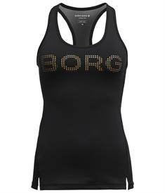 Björn Borg Medal Racerback Tank zw/goud 2021-1043-91901