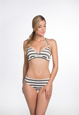 BOMAIN Halter Bikini Lurex Stripe 22919-301