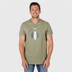 BRUNOTTI tim print mens t-shirt 2011069185-0760