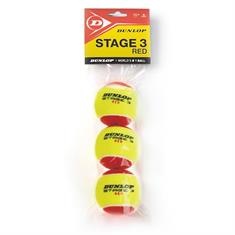 DUNLOP stage 3 red 3 polybag 601340