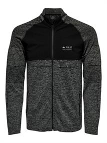 First Velo Hybrid LS Zip Sweat 15175937