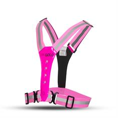 GATO led safer sport vest hotpink rllv-07