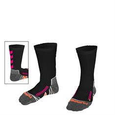 HUMMEL Chevron Sock zwart/pink 140102-8630