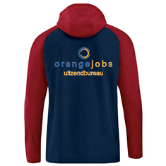 JAKO FCA ORANGE JOBS Jas met kap 6818-09 fcaoj6818-09