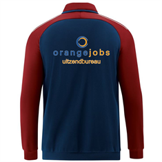 JAKO FCA ORANGE JOBS Polyesterjack 9318-09 fcaoj9318-09