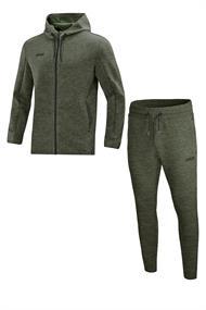 JAKO Joggingpak met Jas met kap Premium Basics m9729-28