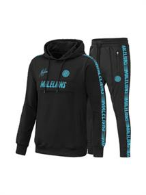 Malelions Tr.Suit Warming Up Black-Blue ms-aw20-1-1 zwart