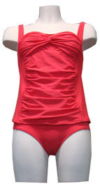 Manouxx ladies pleads bathingsuit 28704-860