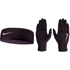 NIKE Women;s Nike run Dry Headb/glove set n.rc3.866.1