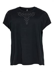 ONLY PLAY Fiona Athl Loose SS Tee Curvy 15190285