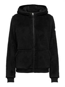 ONLY PLAY Fluffy LS Zip hood Jacket Curvy 15192482