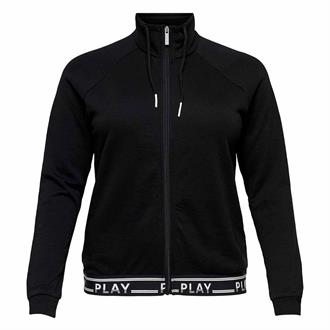 ONLY PLAY Luna High Neck Zip Sweat PRS Curvy 15163921