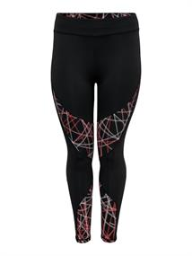 ONLY PLAY Odele HW AOP Training Tights Curvy 15181550