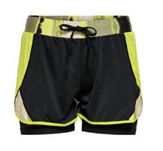 ONLY PLAY ONPARI LIFE AOP LOOSE TRAIN SHORTS 15223952