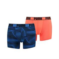 PUMA Active Boxer print 2P 501010001-010