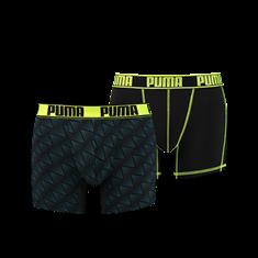 PUMA Active Zigzag Print Boxer 2p 681007001-233
