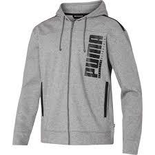PUMA men hooded sweat jacket 580574-02