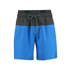 PUMA SWIM MEN LOGO MEDIUM LENGTH SWIM SHORTS 1P Blue/Gr 100000075-006