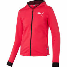 PUMA women hooded zip jacket 580590-02