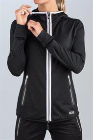 SJENG SPORTS LOGGIRA-B001 lady hooded training jacket loggira-b001